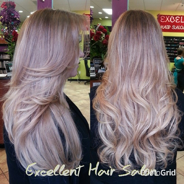 HOW TO Covering Gray Hair With A Balayage Ombre Using