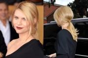 claire danes' suave ponytail