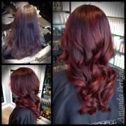 dark cherry - hair color