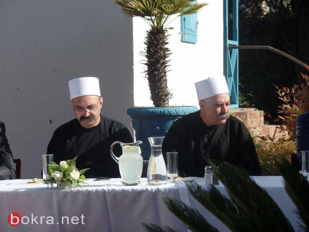 أعضاء بيت العدل البهائيّ الأعظم والقيادة البهائيّة تستقبل عائلة معدّي من يركا