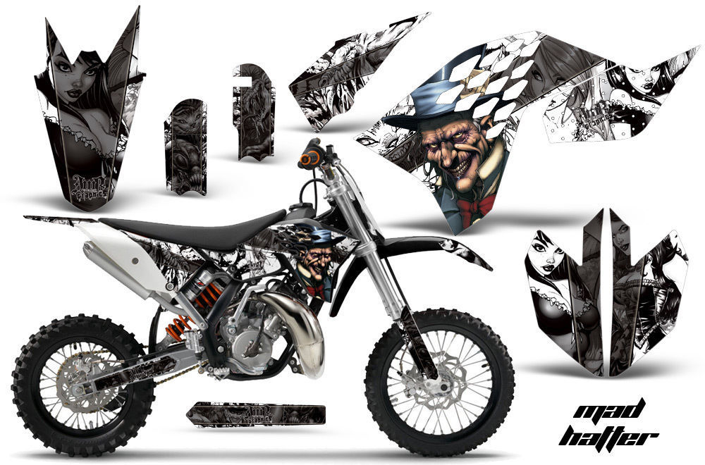 Dirt Bike Decal Graphic kit Sticker Wrap For KTM SX65 SX