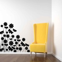 Decorative Daisies - Vinyl Wall Art Decal - Decals ...