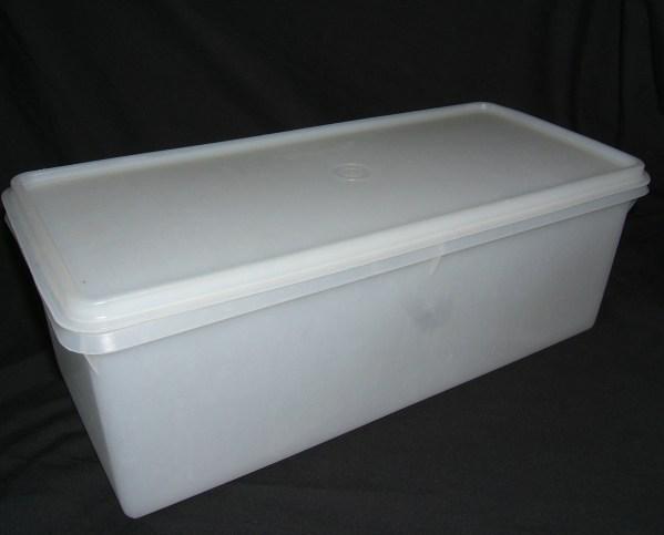Vintage Tupperware Bread Box Container