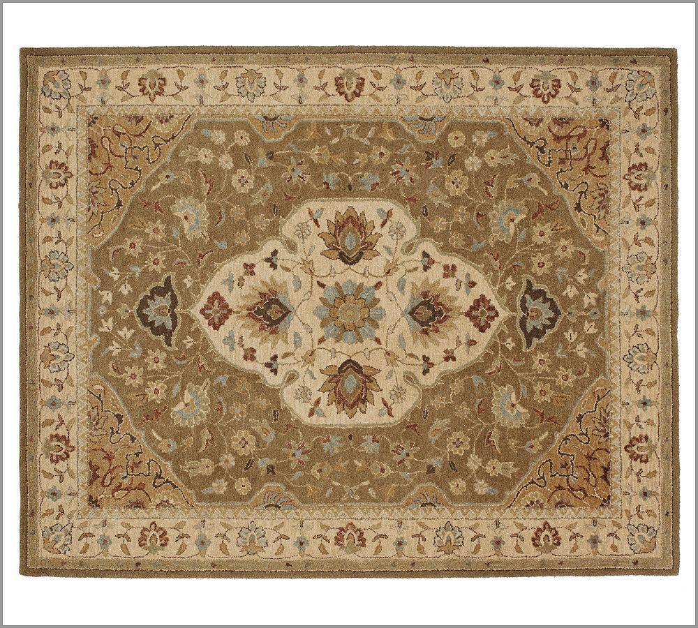 New Pottery Barn Handmade Persian HAYDEN Area Rug 5X8  Rugs  Carpets