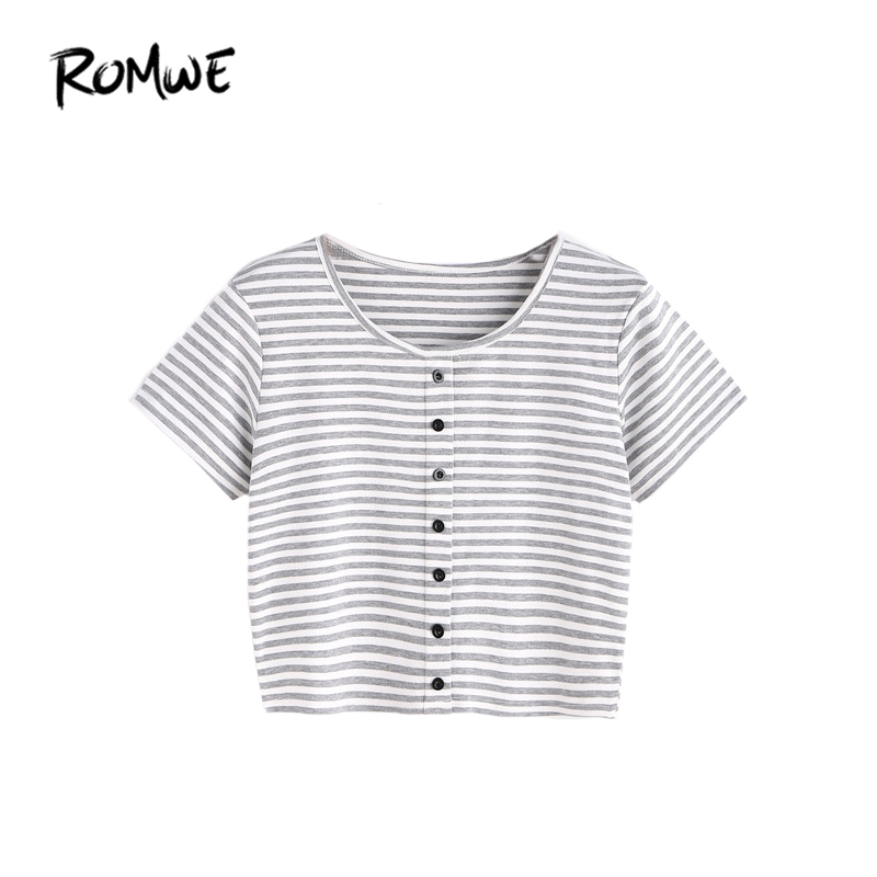 T shirt Women Crop Top Ladies Summer Tee Shirt Contrast