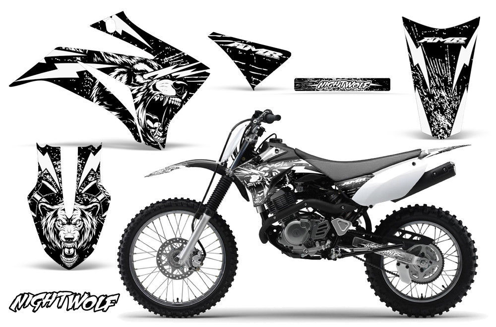 Yamaha TTR125 Dirt Bike Graphic Sticker Kit Decal Wrap MX