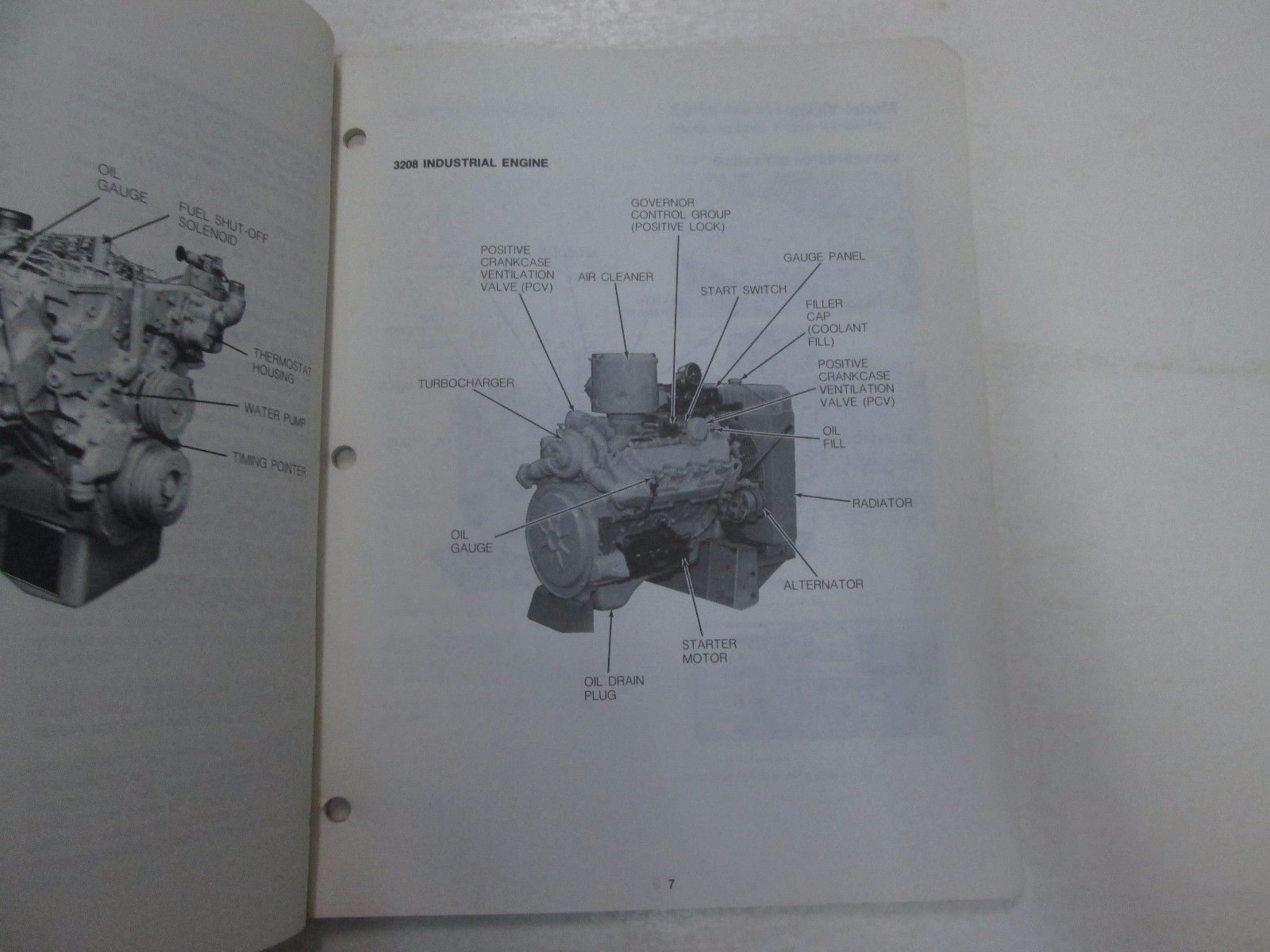 hight resolution of caterpillar 3208 industrial generator set engines operation maint manual 2nd
