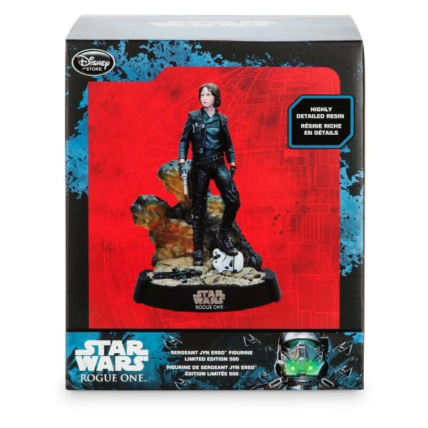 Star Wars Disney Store Jyn Erso Statue Limited Edition