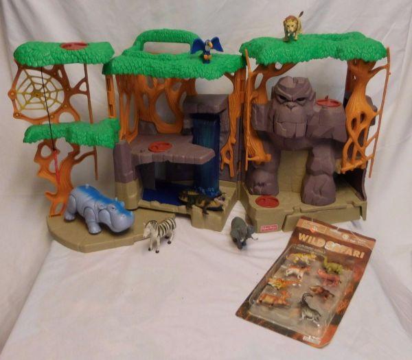 Fisher Imaginext Gorilla Mountain And 43 Similar Items
