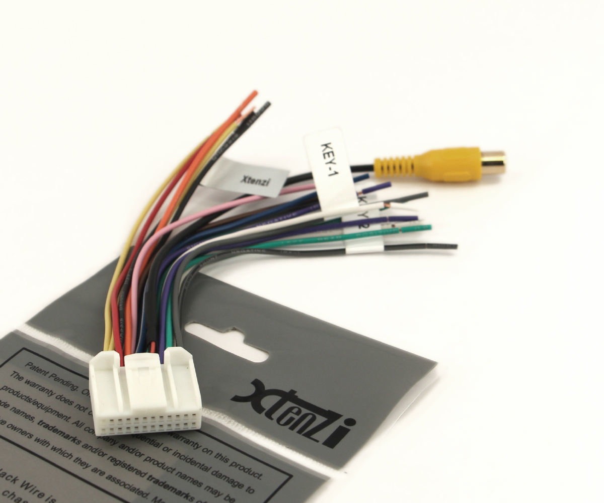 hight resolution of xtenzi 24 pin radio wire harness for pyle and 50 similar items pyle 7 inch flip out pyle pldn72bt audio installation wiring
