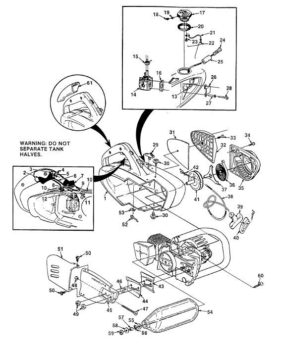 NOS Homelite 94071 Muffler Shield 150 chainsaw part
