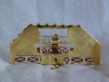 Nashville Opryland Hotel Souvenir Brass Ornament Country