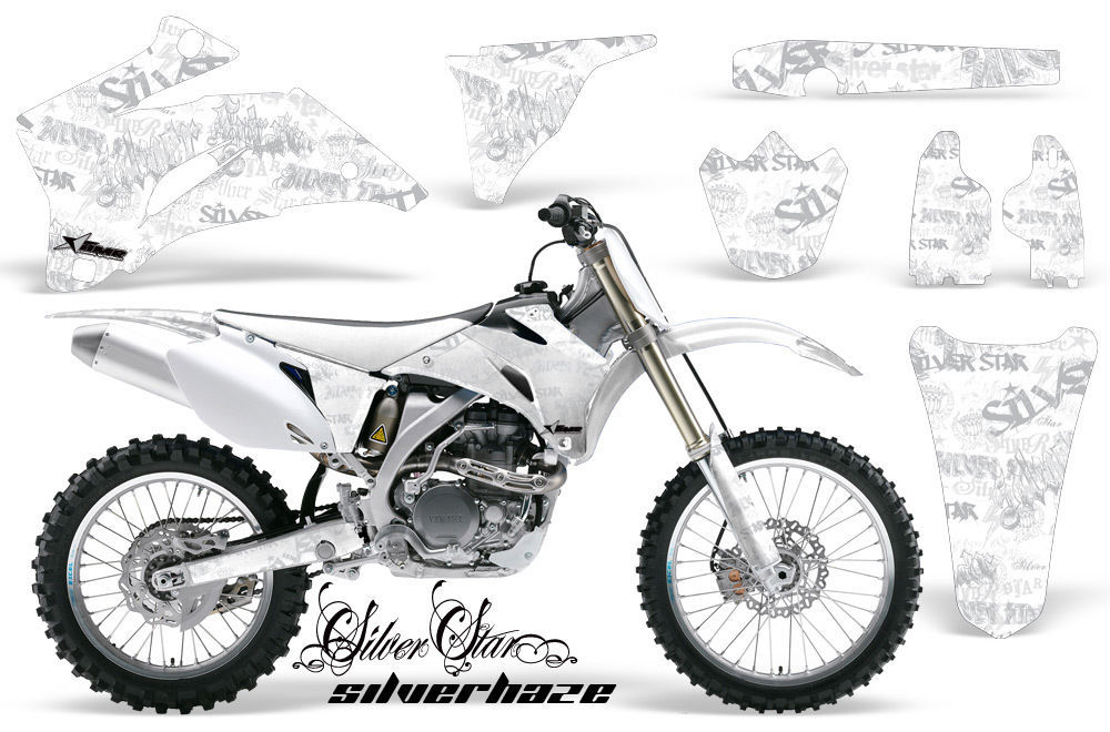 Dirt Bike Graphics Kit Decal Wrap For Yamaha YZ250F YZ450F