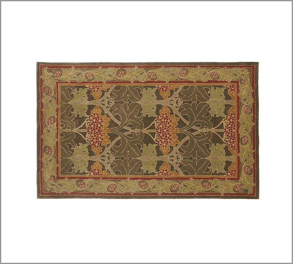 New Pottery barn Handmade Persian CECIL Area Rug 5X8  Rugs  Carpets