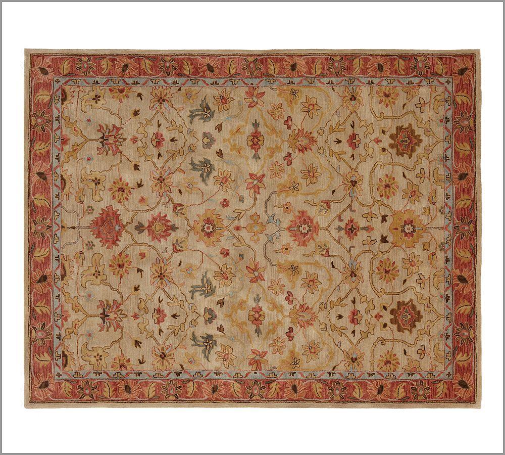New Pottery Barn Handmade Persian ELHAM Area Rug 8X10  Rugs  Carpets