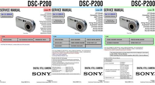 small resolution of sony dsc p200