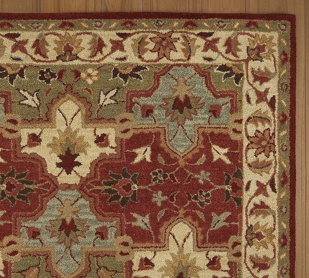 New Pottery Barn Handmade Persian CECILIA Area Rug 5X8  Rugs  Carpets