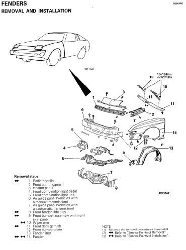 CHRYSLER CONQUEST 1984 1985 1986 1987 1988 1989 FACTORY