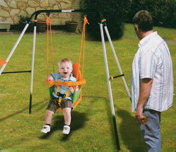 Indoor Outdoor Baby Toddler Swing Set