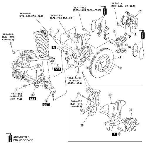 MAZDA RX8 RX-8 2004 2005 2006 2007 2008 2009 FACTORY