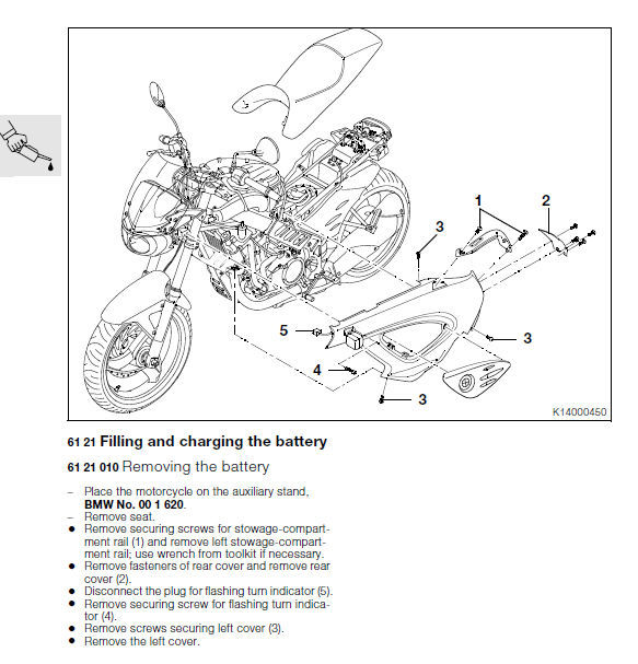 BMW F650CS 2001 2002 2003 2004 2005 FACTORY SERVICE REPAIR