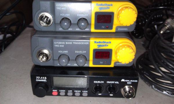 Radio Shack Handheld Cb Radio - Year of Clean Water