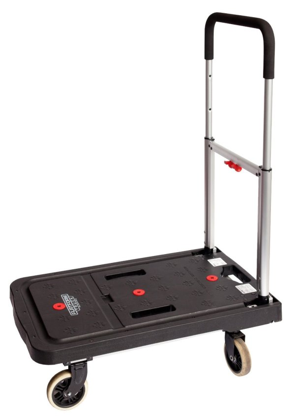 Folding Dolly Cart Office Furniture Utility Rolling Move Desk 4-wheel Hand Truck - Carts & Trucks