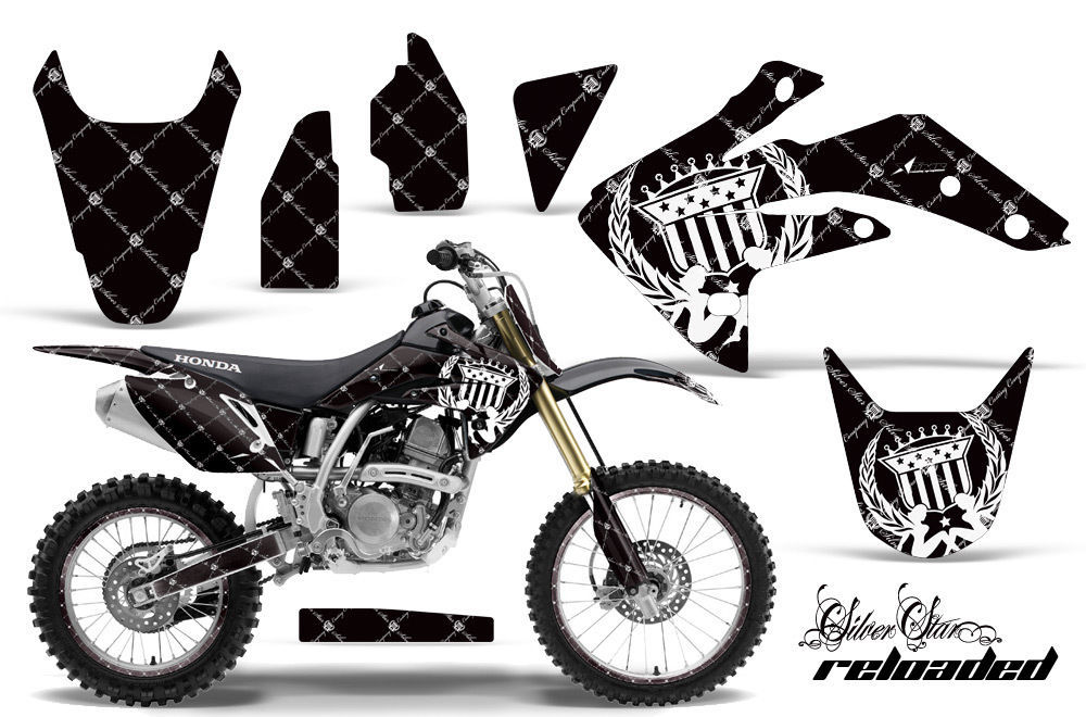 Graphic Kit Decal Sticker Wrap + # Plates For Honda