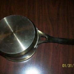 Kitchen Essentials By Calphalon Cabinet Pricing 1 Qt Sauce Pan Item 8701