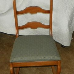 Maple Rocking Chair Movie Theatre Chairs For Home Sewing Rocker R173 Post 1950