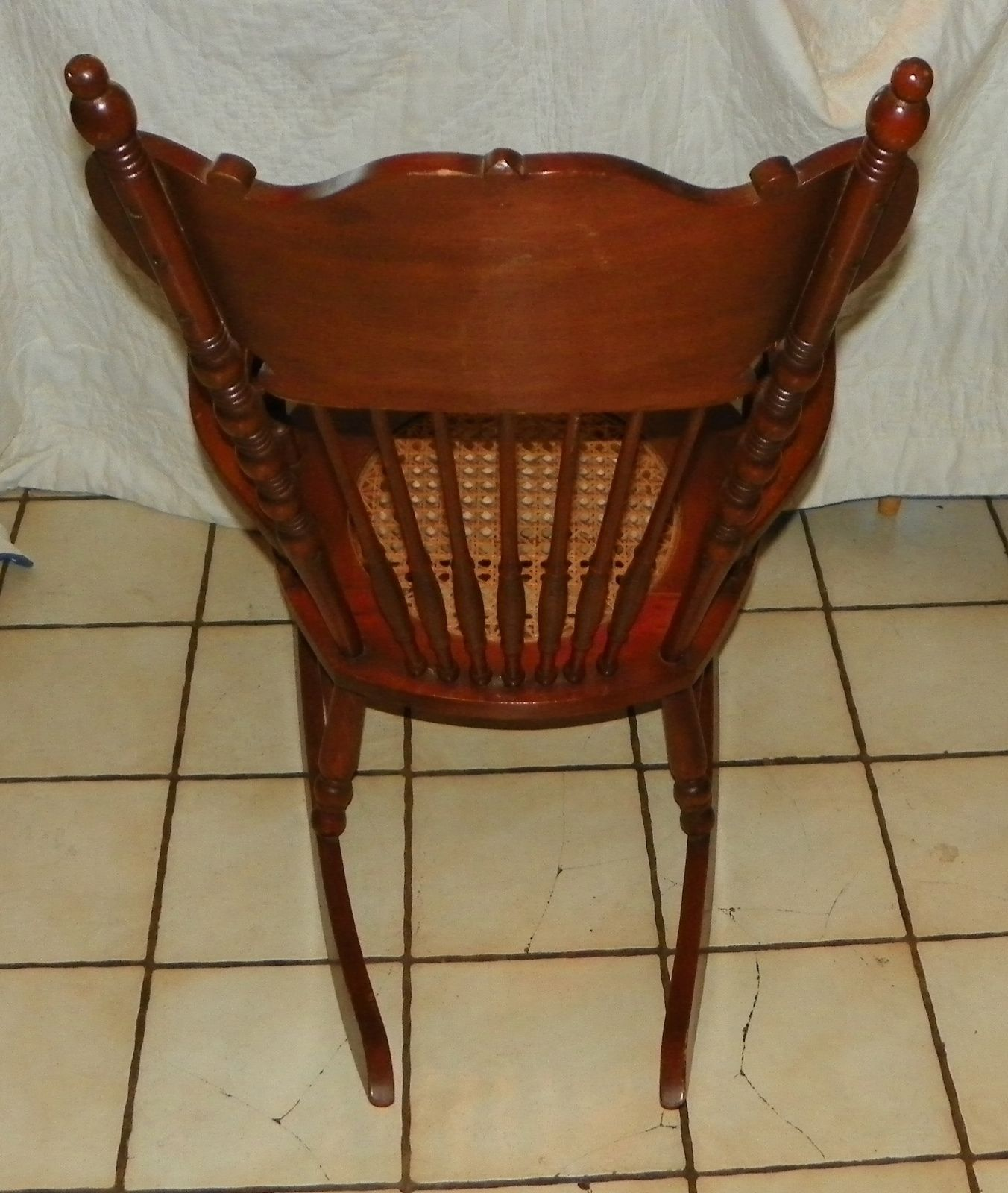 rocking chair cane covers of hampshire cherry carved seat rocker r175