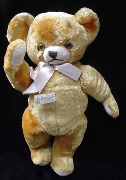 Vintage Knickerbocker Jointed Plush Toy Teddy Bear Old Other