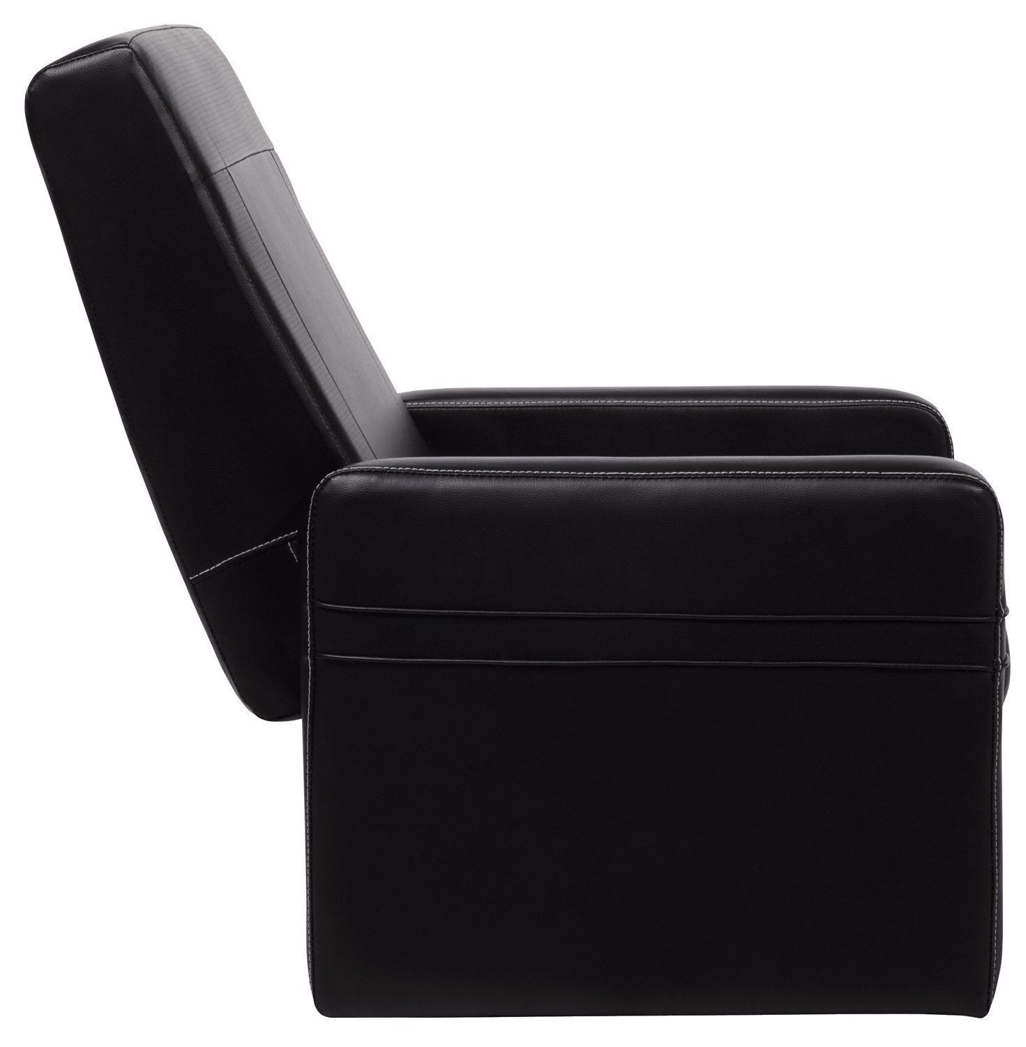 gaming chair ottoman latest design serta in puresoft black faux leather
