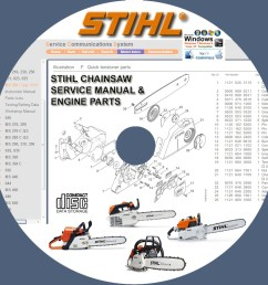 stihl chainsaw 009 017 018 019t 020t 021 023 025 service repair manuals engine [ 1000 x 1000 Pixel ]