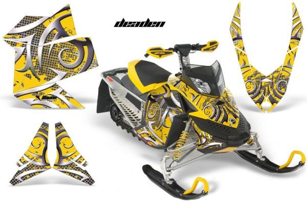 AMR RACING BRP SLED DECAL MX Z GRAPHIC WRAP KIT FREERIDE