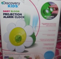Discovery Kids Daisy Bloom Projection Alarm Clock Projects ...