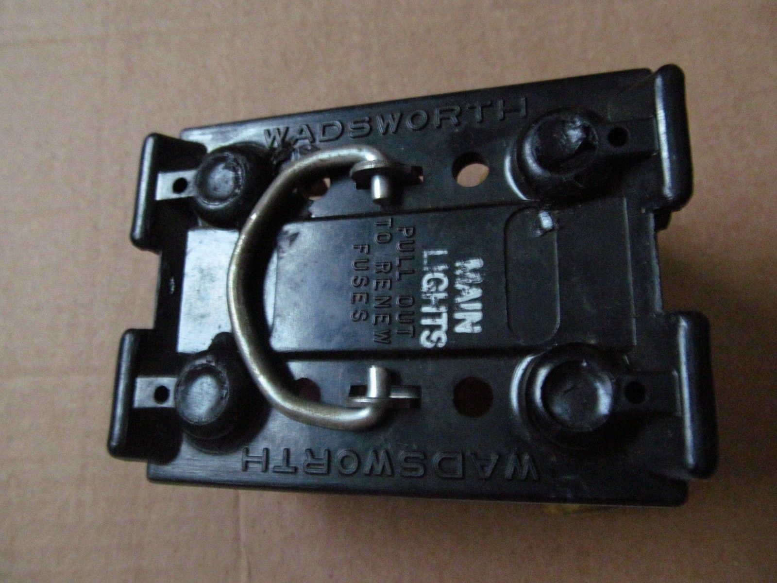 100 Amp Wadsworth Fuse Box 60 Amp Wadsworth Fuse Holder Pull Out Free 60a Amp 30a