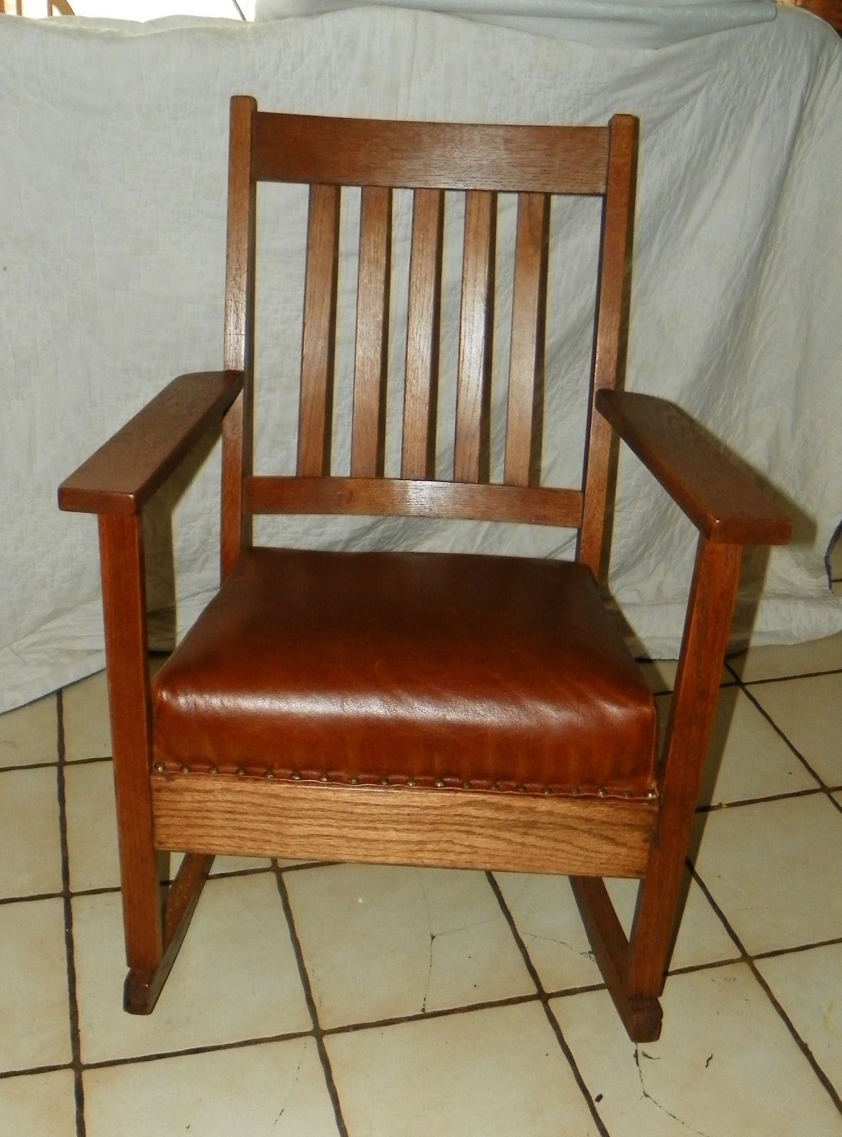 Mission Rocking Chair Mission Oak Rocker Rocking Chair R178 Post 1950