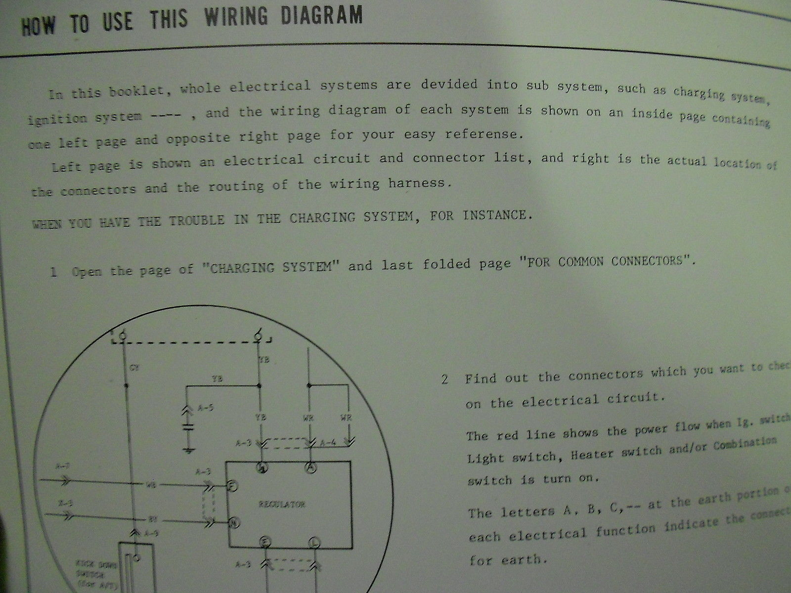 hight resolution of 1978 mazda glc electrical wiring diagram service repair shop manual oem book 78