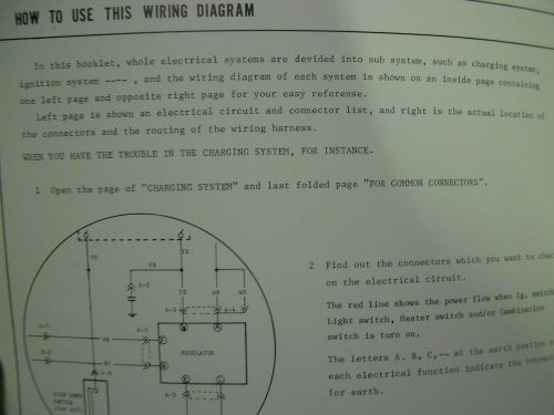 small resolution of 1978 mazda glc electrical wiring diagram service repair shop manual oem book 78