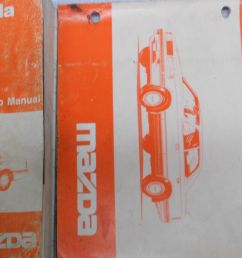 1989 mazda 929 service repair shop manual set factory oem rare how to fix 89 22 28 [ 1600 x 802 Pixel ]