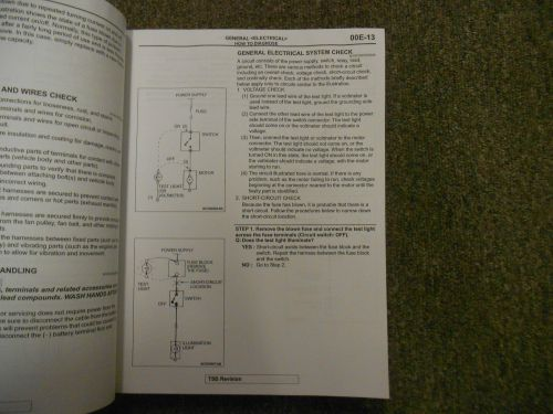 small resolution of 2009 mitsubishi galant electrical supplement service shop manual water damage 04