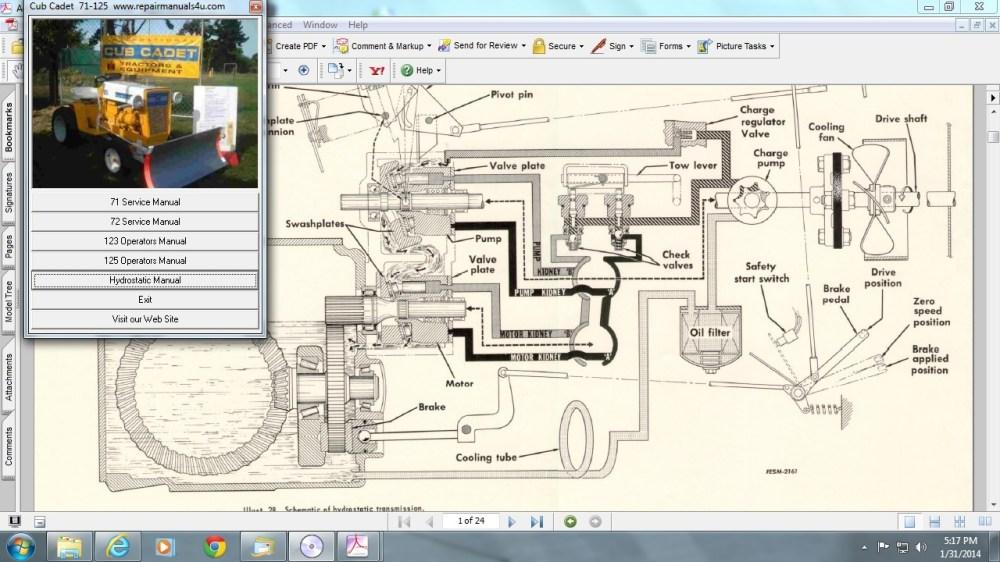 medium resolution of cub cadet 71 wiring diagram