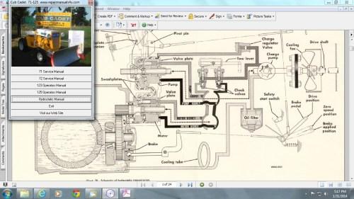 small resolution of cub cadet 71 wiring diagram
