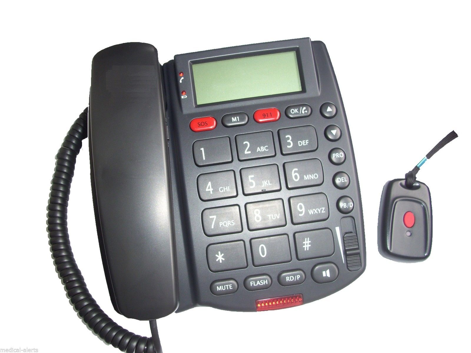 Emergency Phone Dialer With No Monthly Fees 911 Life Line Alert