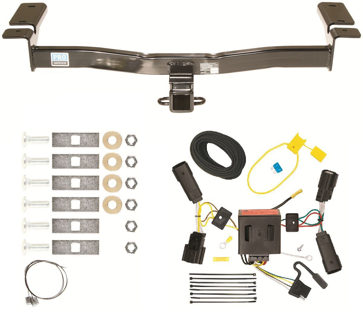 trailer hitch wire diagram holden colorado stereo wiring 2011 ford edge and harness combo kit