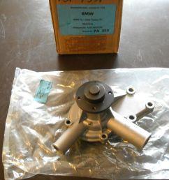 bmw water pump bestell pa353 new fits 1600 1800 2000 2002 100 00 [ 1600 x 1200 Pixel ]