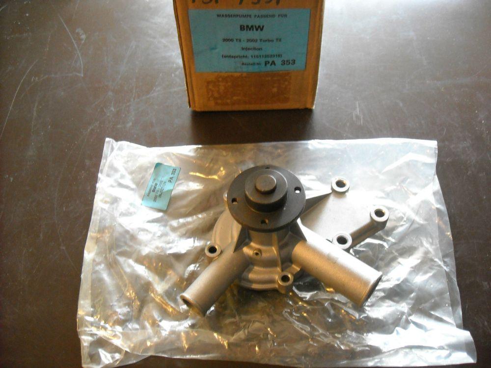 medium resolution of bmw water pump bestell pa353 new fits 1600 1800 2000 2002 100 00