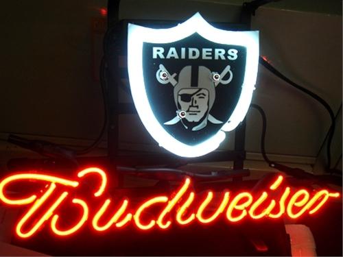 Raiders Bud Light Can