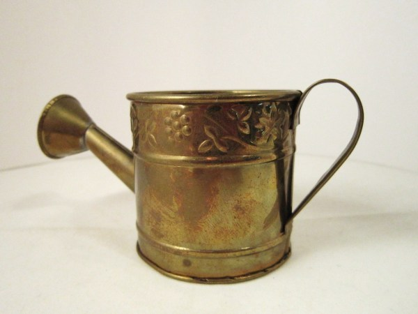 Solid Brass Watering Can